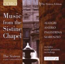 The Sixteen - Music from the Sistine Chapel, CD