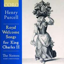 Henry Purcell (1659-1695): Royal Welcome Songs for King Charles II, CD