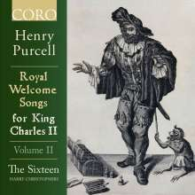 Henry Purcell (1659-1695): Royal Welcome Songs for King James II Vol.2, CD