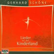 Gerhard Schöne: Lieder aus dem Kinderland. CD, CD