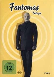 Fantomas - Die Trilogie, 3 DVDs