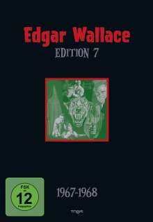 Edgar Wallace Edition 7, 4 DVDs