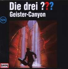 Die drei ??? (Folge 124) - Geister-Canyon, CD