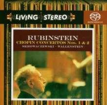 Frederic Chopin (1810-1849): Klavierkonzerte Nr.1 & 2, Super Audio CD