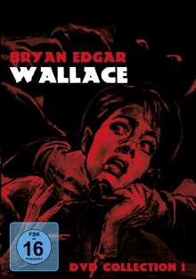 Bryan Edgar Wallace Collection 1, 3 DVDs