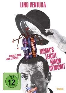 Nimm's leicht - Nimm Dynamit, DVD
