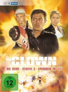 Der Clown - Die Serie Staffel 3, 3 DVDs