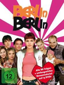 Berlin, Berlin Staffel 1-4 (Komplette Serie), 13 DVDs