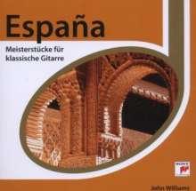 John Williams:Espana - Meisterstücke für klassische Gitarre, CD