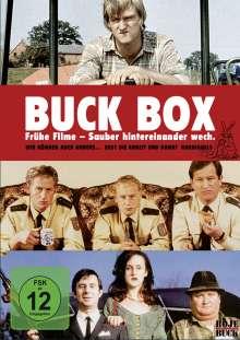Buck-Box: Frühe Filme von Detlev Buck, 3 DVDs