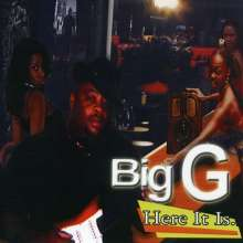 Big G: Here It Is, CD