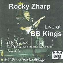 Rocky Zharp: Live At B.B. Kings Hollywood, CD