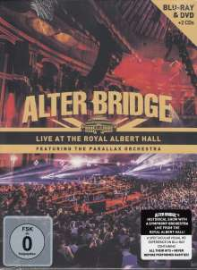 Alter Bridge: Live At The Royal Albert Hall Feat. The Parallax Orchestra, 1 Blu-ray Disc, 1 DVD und 2 CDs