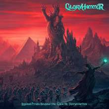 Gloryhammer: Legends From Beyond The Galactic Terrorvortex, CD
