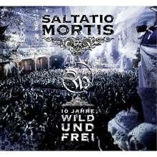 Saltatio Mortis: 10 Jahre wild und frei (Reissue), 1 CD und 1 DVD