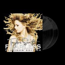 Taylor Swift: Fearless (Platinum Edition) (Black Vinyl), 2 LPs