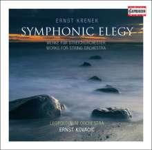 Ernst Krenek (1900-1991): Werke für Streichorchester, CD