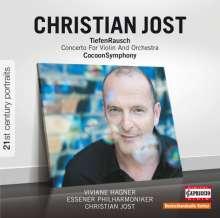"Christian Jost (geb. 1963): Violinkonzert ""TiefenRausch"", CD"