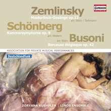 Arnold Schönberg (1874-1951): Kammersymphonie Nr.1 op.9 (arr.Webern), CD