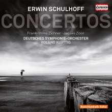 Erwin Schulhoff (1894-1942): Konzert für Klavier & kleines Orchester op.43, CD