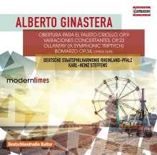 Alberto Ginastera (1916-1983): Bomarzo op.34 (Opernsuite), CD