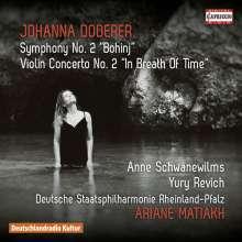 Johanna Doderer (geb. 1969): Symphonie Nr.2, CD