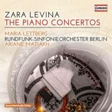Zara Levina (1906-1976): Klavierkonzerte Nr.1 & 2, CD