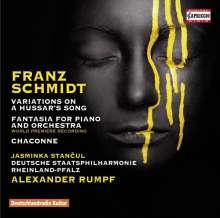 Franz Schmidt (1874-1939): Fantasiestück B-Dur für Klavier & Orchester, CD