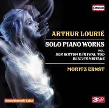 Arthur Lourie (1892-1966): Klavierwerke, 3 CDs