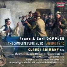 Franz (1821-1883) & Carl (1825-1900) Doppler: Kammermusik mit Flöte Vol.1, CD