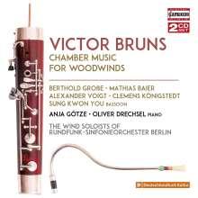 Victor Bruns (1904-1996): Kammermusik für Bläser, 2 CDs