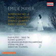 Emilie Mayer (1812-1883): Symphonie Nr.4 h-moll, 2 CDs