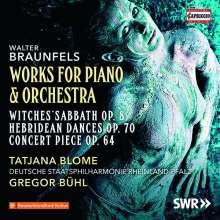 Walter Braunfels (1882-1954): Werke für Klavier & Orchester, CD