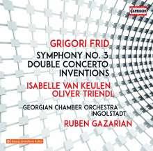 Grigori Frid (1915-2012): Symphonie Nr. 3 op. 50 für Streicher & Pauken, CD