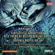 Walter Braunfels (1882-1954): Sinfonia brevis op. 69, CD
