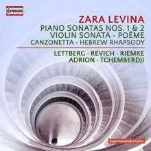 Zara Levina (1906-1976): Kammermusik & Klavierwerke, CD