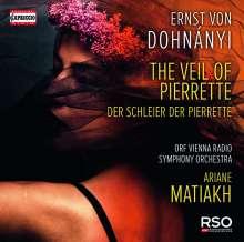 Ernst von Dohnanyi (1877-1960): The Veil of Pierrette op.18, CD