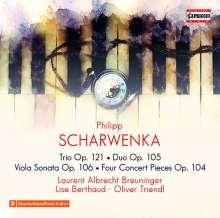 Philipp Scharwenka (1847-1917): Kammermusik mit Violine, CD