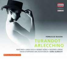 Ferruccio Busoni (1866-1924): Arlecchino (Oper in 1 Akt), 2 CDs
