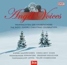 """Weihnachten der Knabenchöre """"Angel Voices"""", 3 CDs"""