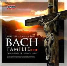 Geistliche Musik der Bach-Familie, 5 CDs