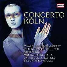 Concerto Köln - Capriccio Aufnahmen 1989-2003, 10 CDs
