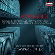Erich Wolfgang Korngold (1897-1957): Korngold Edition (Capriccio), 4 CDs