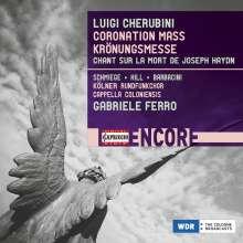 Luigi Cherubini (1760-1842): Krönungsmesse A-dur für Karl X., CD