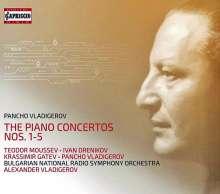 Pancho Vladigerov (1899-1978): Klavierkonzerte Nr.1-5, 3 CDs