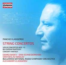 Pancho Vladigerov (1899-1978): Violinkonzerte Nr.1 & 2, 2 CDs