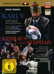 Ernst Krenek (1900-1991): Karl V., 2 DVDs