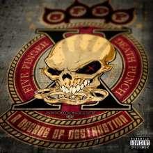 Five Finger Death Punch: A Decade Of Destruction, 2 LPs