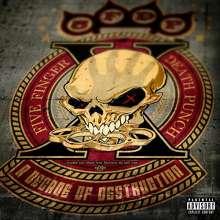 Five Finger Death Punch: A Decade Of Destruction (Explicit), CD