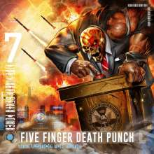 Five Finger Death Punch: And Justice For None (Explicit), CD